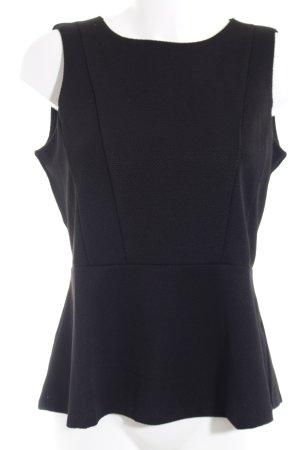 H&M Peplum top zwart elegant