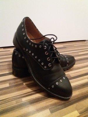 H&M Chaussure Oxford noir