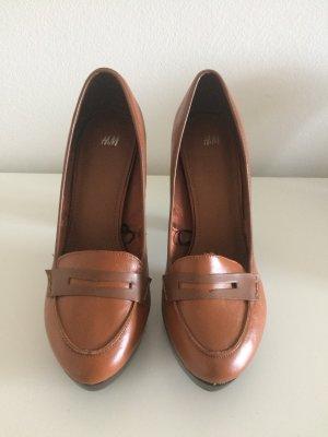 H&M Schuhe High Heels Pumps neu 40 braun Herbst
