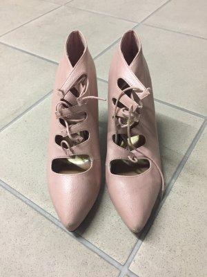 H&M Schuhe Rose altrosa
