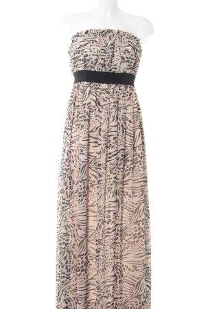 H&M Off-The-Shoulder Dress animal pattern elegant