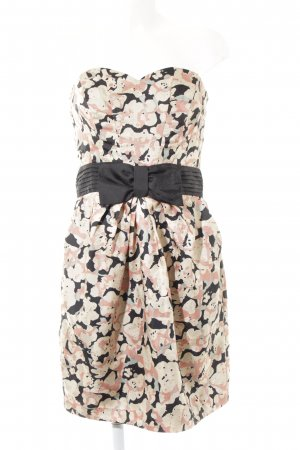H&M Off-The-Shoulder Dress flower pattern casual look