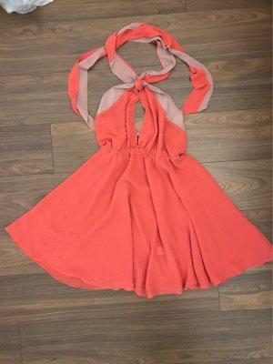 H&M schulterfreies Kleid mit tiefem Ausschnitt Gr. 38