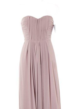 H&M Robe épaules nues or rose élégant