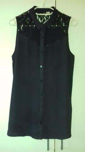 《H&M - Schulterfreies Shirt mit Spitze》