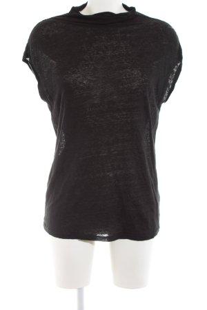 H&M Off-The-Shoulder Top black casual look