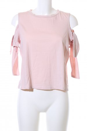 H&M Off-The-Shoulder Top pink casual look