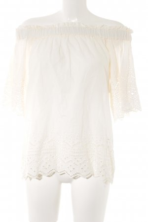 H&M Off the shoulder top room casual uitstraling