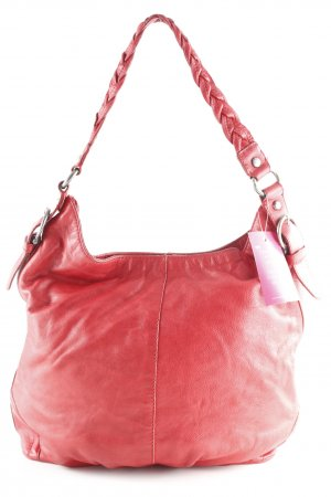 H&M Schultertasche rot Casual-Look