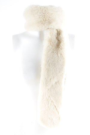 H&M Châle au tricot crème-beige style classique