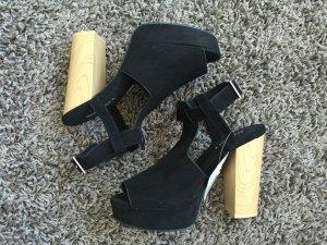 H&M schwarze Absatz Schuhe