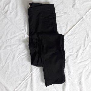 H&M schwarze Jeggings 38 Röhre Slim Fit Skinny Jeans Denlm Schwarz