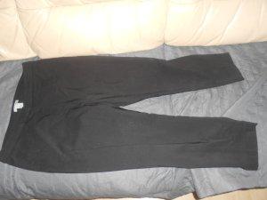 H&M 7/8 Length Trousers black cotton