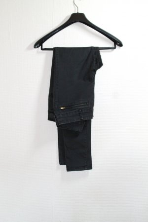 H&M schwarze Strech Jeans Gr. 40 mit Cut-Outs an den Knien