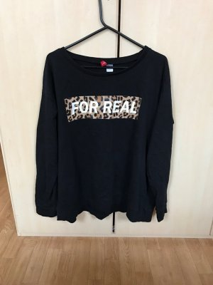 H&M Schwarze T-Shirt