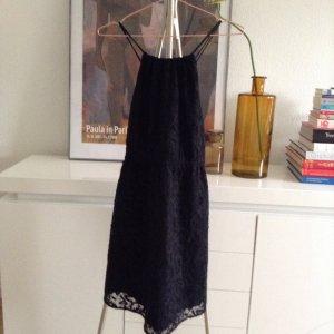 H&M schwarzes Kleid aus Spitze
