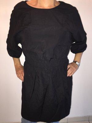 H&M T-shirt jurk zwart Katoen