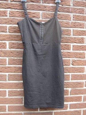 H&M: Schwarzes Minikleid mit Trägern, Größe 38/ 40