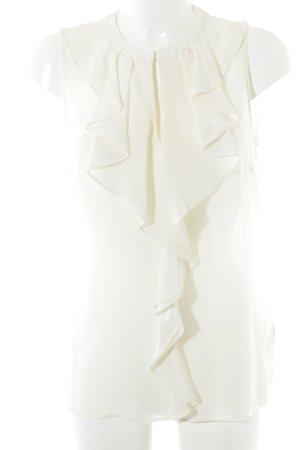 H&M Seidenbluse creme Casual-Look