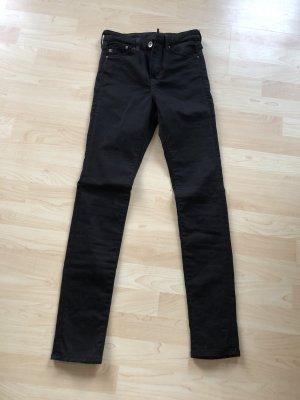 H&M Shaping Jeans Skinny schwarz, neu 27
