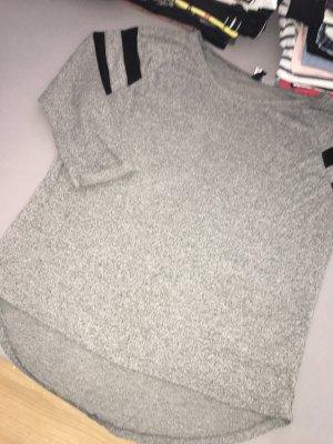H&M Haut long gris-gris foncé