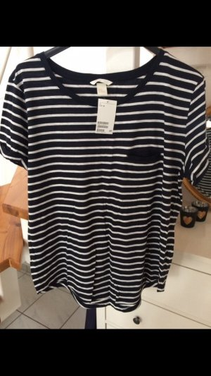 H&M Shirt blau weiß neu letzte Reduzierung