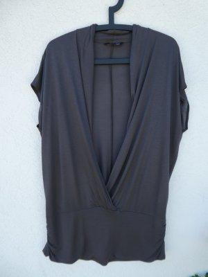 H&M  – Shirt, dunkelgrau - Gebraucht, fast wie neu