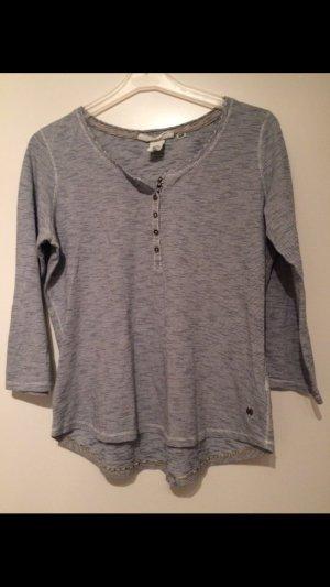 H&M Shirt gestreift schwarz weiß