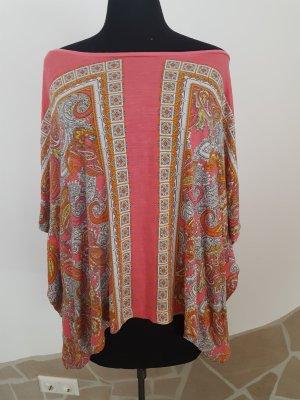 H&M Top épaules dénudées multicolore viscose