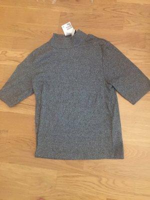 H&M Shirt grau, neu mit Etikett, Größe M