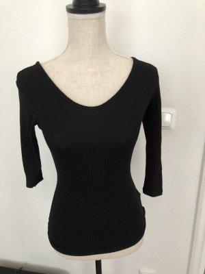 H&M Shirt in schwarz, Gr. XS, neu