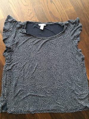 H&M shirt kurzarm mit Rüschen Gr. XL neu und ungetragen