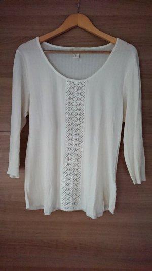 H&M Shirt mit Häkeldetails