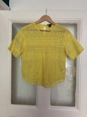 H&M Shirt mit Lochspitze