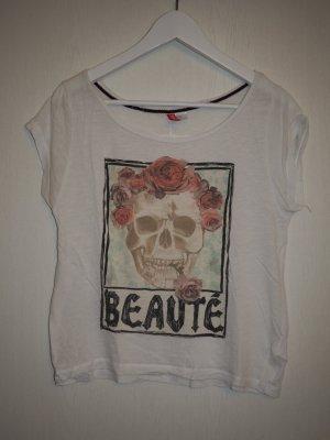 H&M Shirt mit Skull-Design