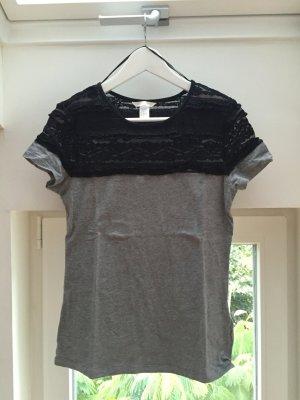 H&M Shirt mit Spitze