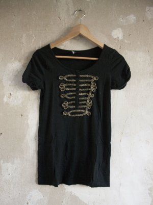 H&M Shirt mit Stickerei