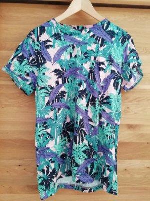 H&M Shirt S Tropical Blumen Floral Blüten Miami