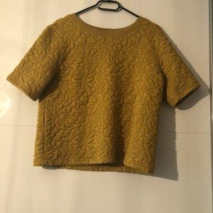 H&M Shirt senffarben Gr. S