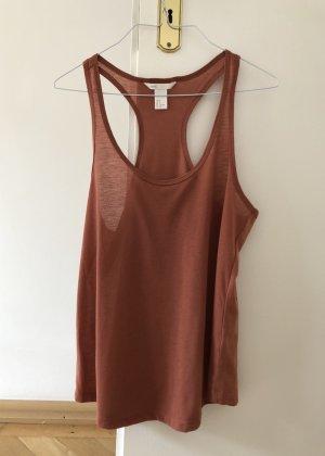 H&M Shirt Top Kupfer S 36