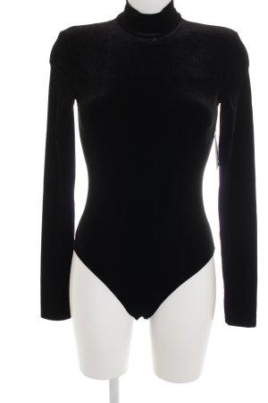 H&M Shirtbody schwarz minimalistischer Stil