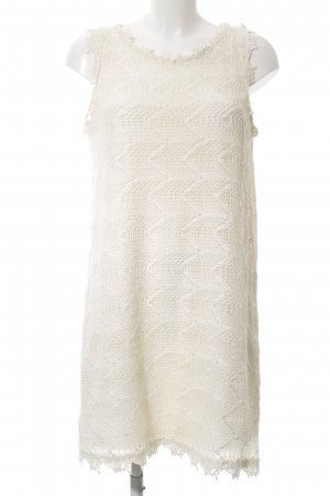H&M Shirtkleid creme grafisches Muster Casual-Look