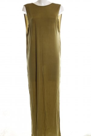 H&M Shirtkleid goldfarben Casual-Look