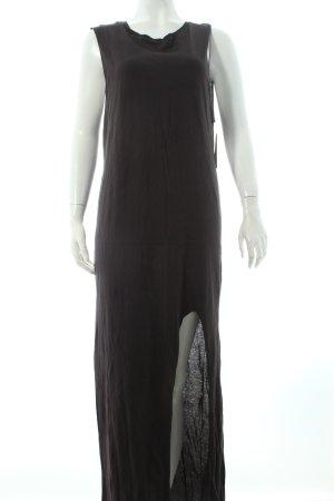 H&M Shirtkleid dunkelgrau Casual-Look