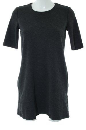 H&M Shirt Dress light grey flecked casual look