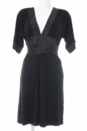 H&M Shirtkleid schwarz