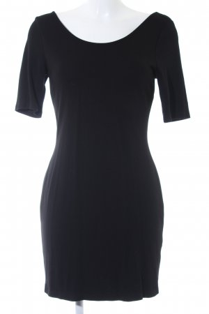 H&M Robe t-shirt noir style décontracté