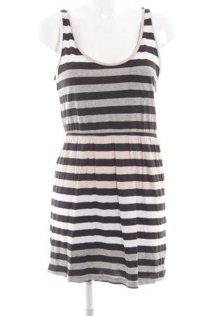 H&M Vestido estilo camisa estampado a rayas look casual