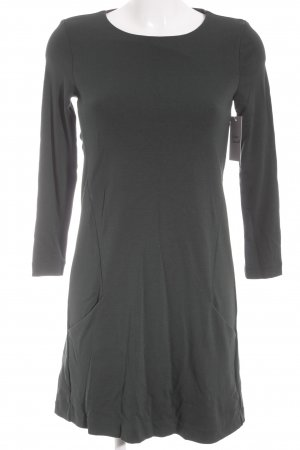 H&M Shirtkleid waldgrün Business-Look