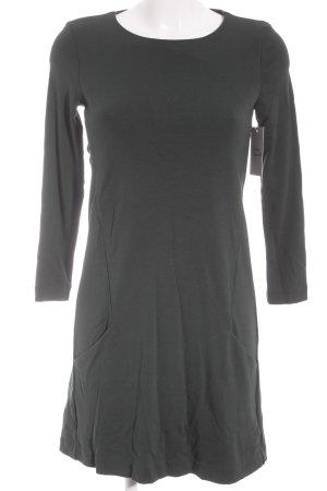 H&M Shirtkleid waldgrün Business-Look